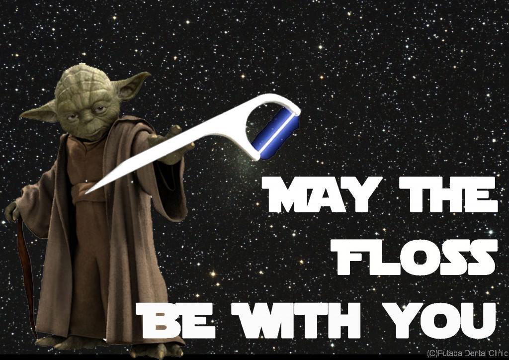 yoda floss